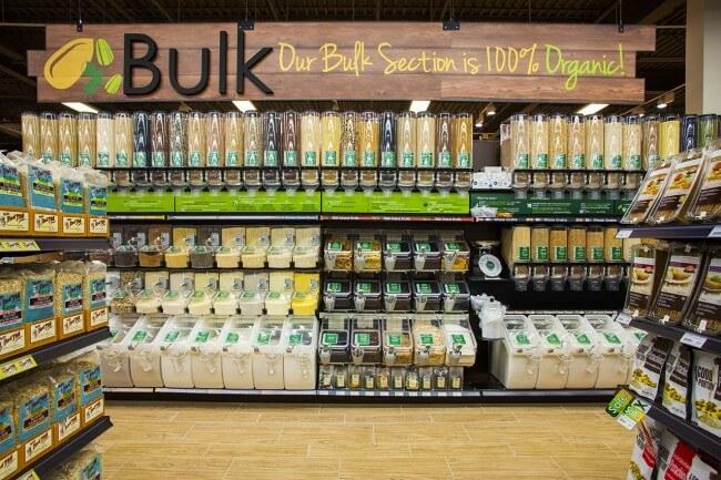100% Organic Bulk Foods Department - Nature's Emporium