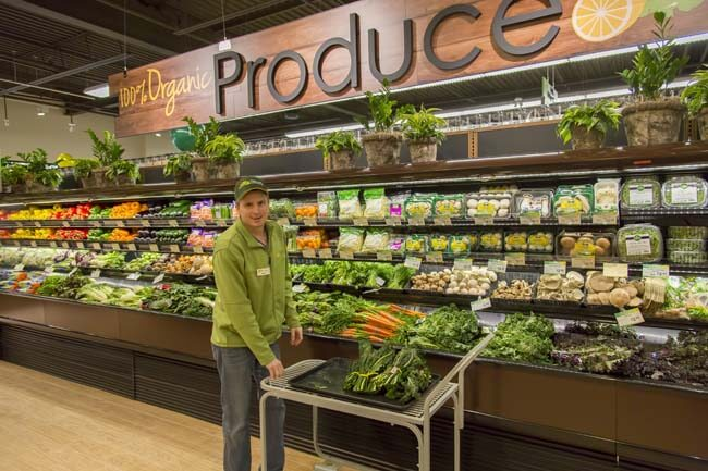 Nature's Emporium Organic Produce Department in Vaughan