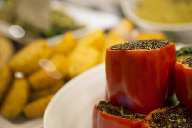 Nature's Emporium Fresh Stuffed Organic Peppers