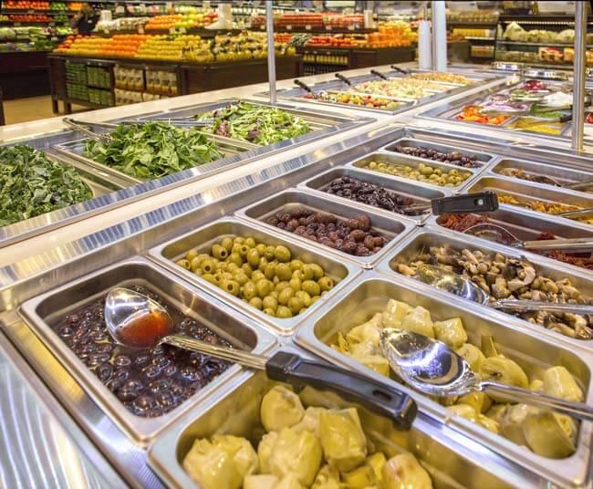 Nature's Emporium Vaughan Organic Salad Bar