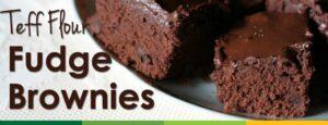 Gluten Free Teff Flour Brownies