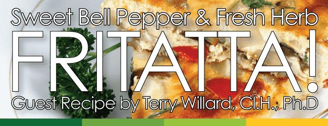 Sweet-Bell-Pepper-and-Fresh-Herb-Fritatta---Terry-Willard---Nature's-Emporium