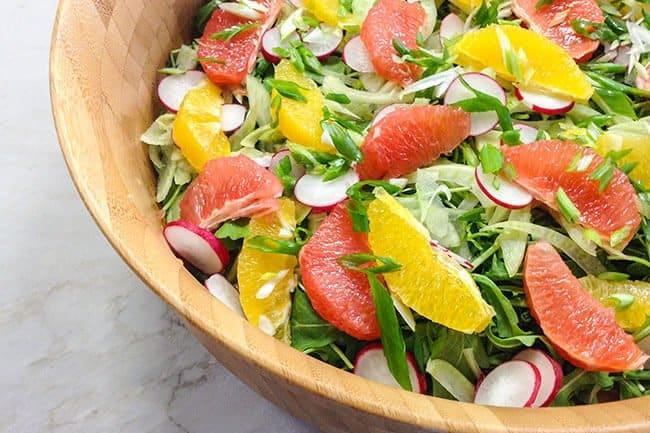 Arugula Citrus Salad