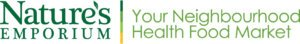 Nature's Emporium Your Neighbourhood Health Food Market Logo 2013