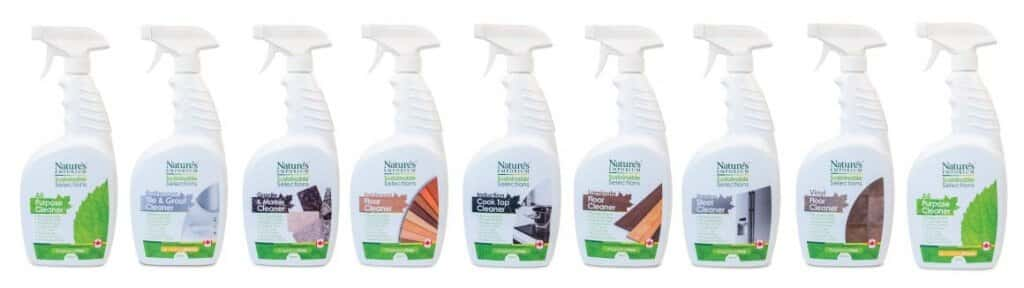 Sustainable Selections Cleaning Products Group Photo