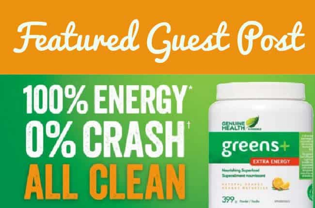 What's in Greens+ Extra Energy and Why - Guest Post