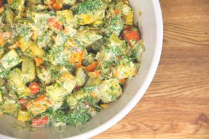 Dill-iscious Roasted Root Salad