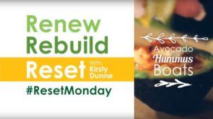 Reset-Monday-Spicy Hummus Avocado Boats