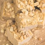 Peanut Butter Maca Freezer Fudge
