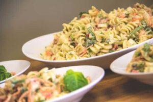 "Dill-icious ""Chicken"" Pasta Salad"