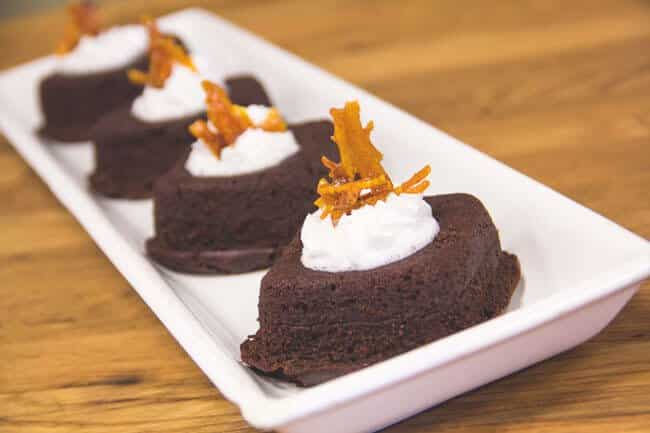 Orange Lava Cake