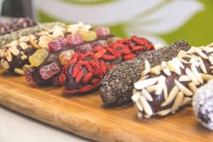Superfood Peanut Butter Chocolate Banana Pops