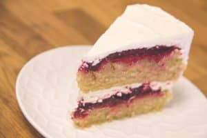 Strawberry & Beet Birthday Cake