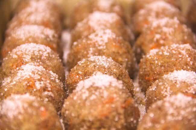 Apple-Carrot Detox Balls