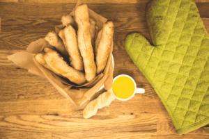 Featured Recipe: Gluten Free Pretzel Sticks with Honey Mustard Sauce