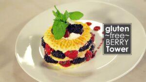 Gluten Free Berry Tower