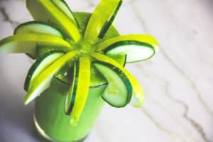Green Apple/Cucumber/Mint Smoothie