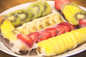 Fruity Fresh Rolls