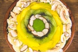 Tropical Green Smoothie Bowl