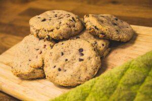 Strawberry & Chocolate Almond Cookies (Dairy Free, Gluten Free)