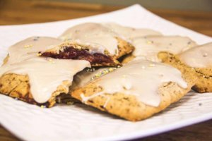 Raspberry Top-Tarts (Gluten Free, Vegan)