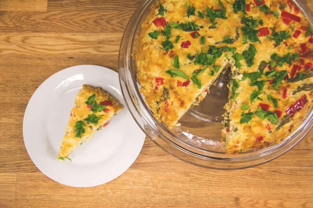 Tofu-Asparagus Frittata