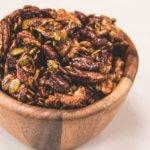 Pumpkin Spice Candied Nuts