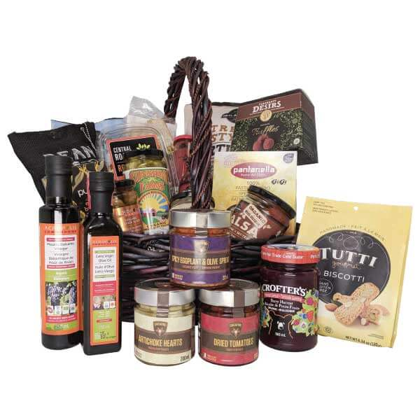 Earths bounty vegan gluten free essentials gift basket the epicurean culinary essentials gift basket negle Image collections