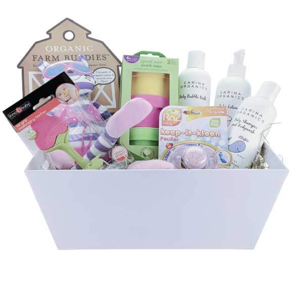 Earths bounty vegan gluten free essentials gift basket pure clean eco friendly baby essentials gift basket negle Image collections