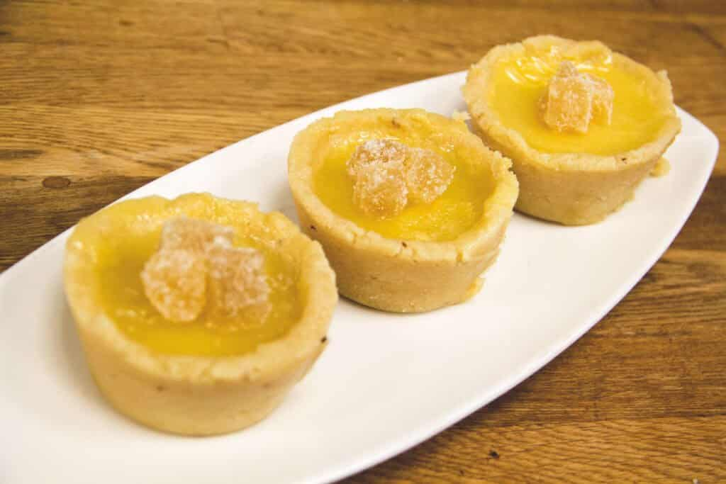 Orange & Ginger Tarts