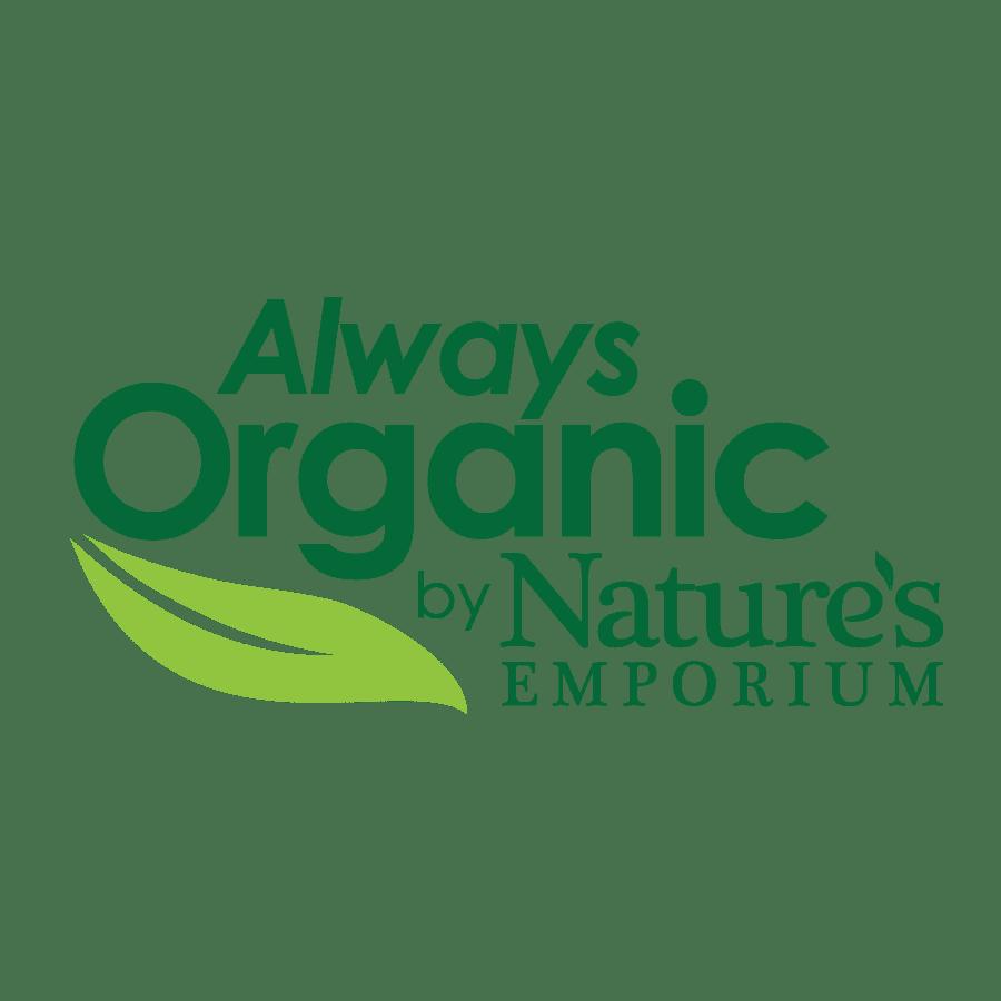 Nature's Emporium Always Organic Brand Logo