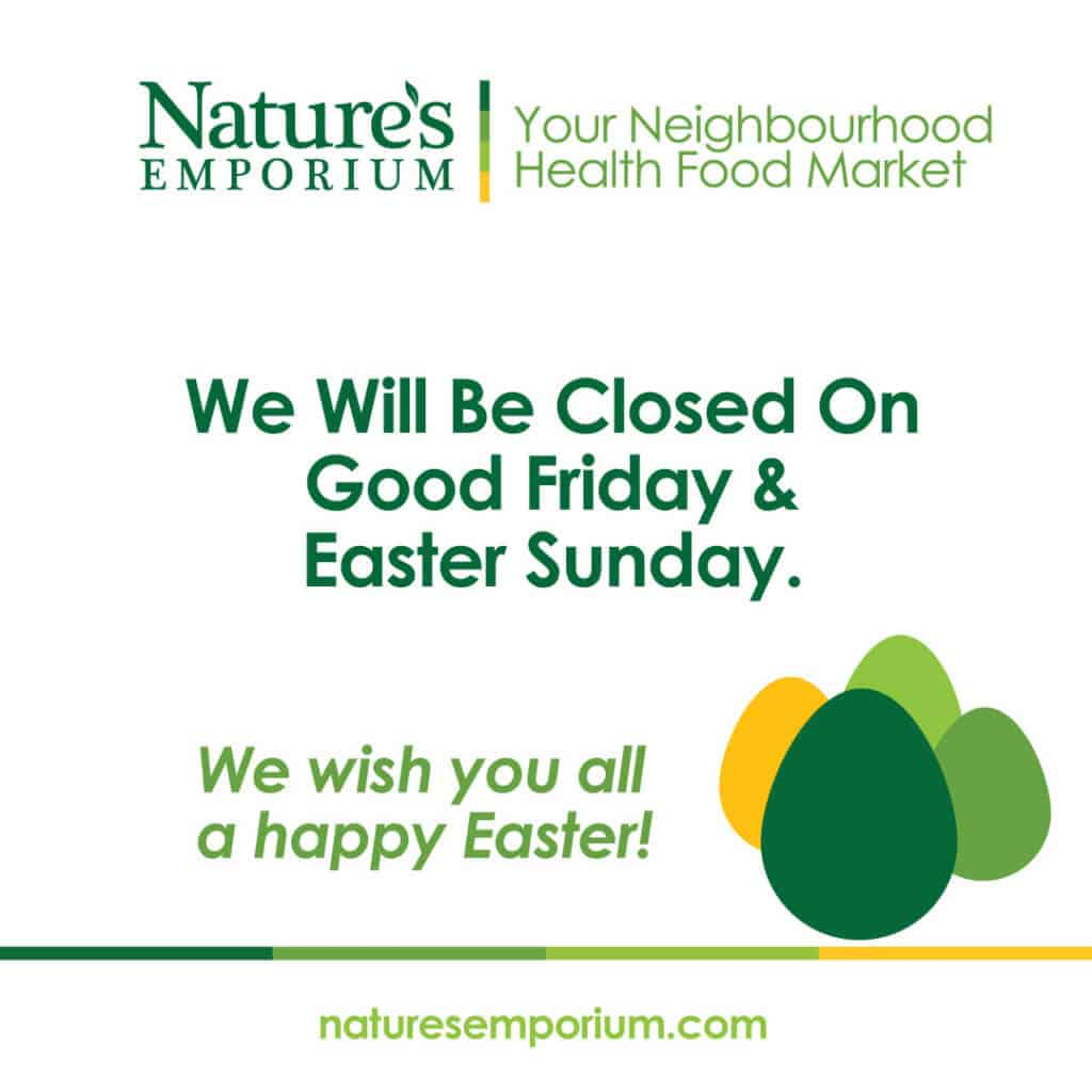 Easter Holiday Hours Image