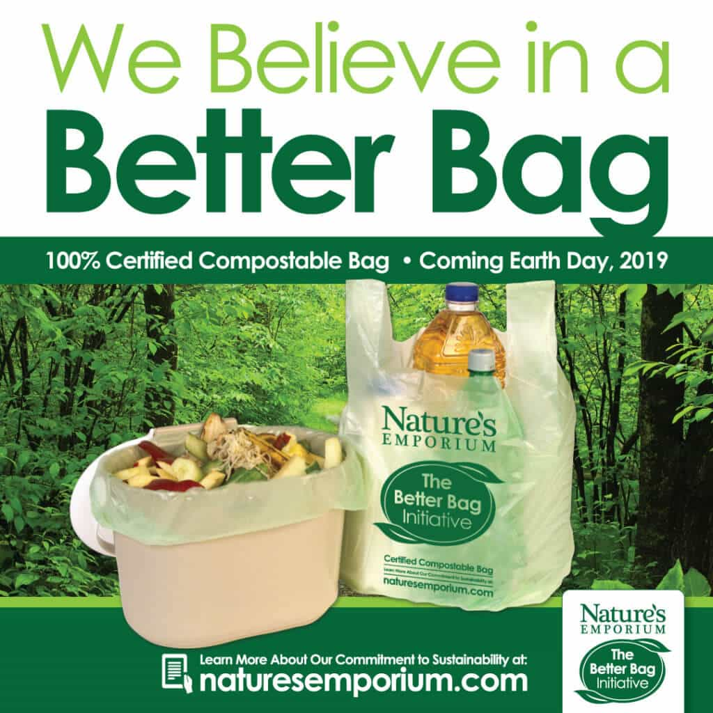 Nature's Emporium Compostable Bag Image