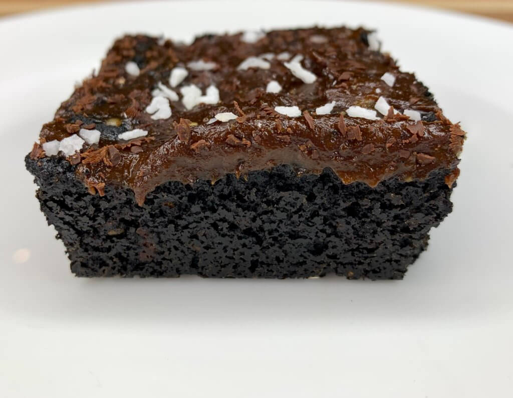 Miranda Malisani's Black Sesame Brownies made with Natural and Organic Ingredients