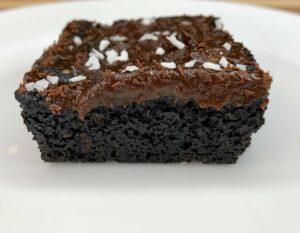 Miranda Malisani's Black Sesame Brownies made with Natural and Organic Ingredients