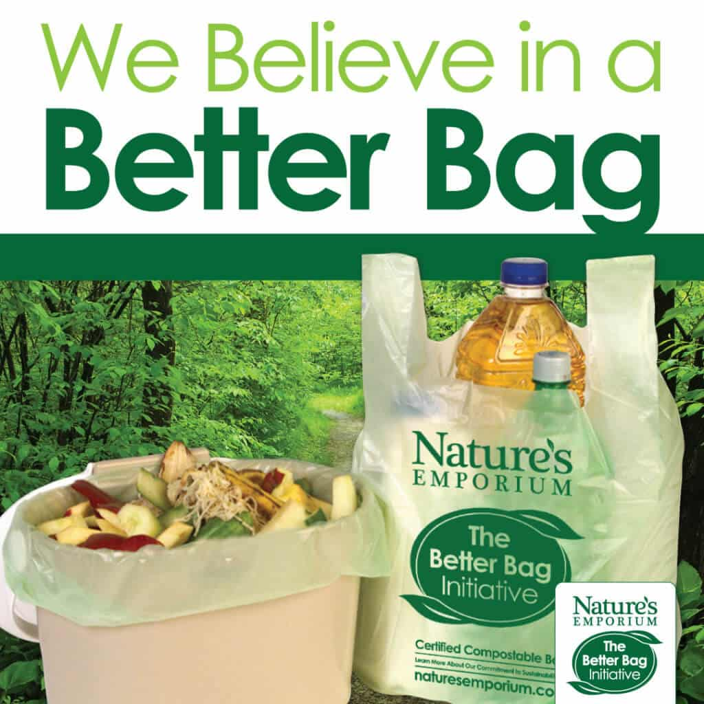 Nature's Emporium 100% Compostable Bag