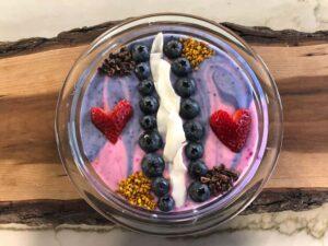 Berry Coconut Yogurt Smoothie Bowl by Nature's Emporium