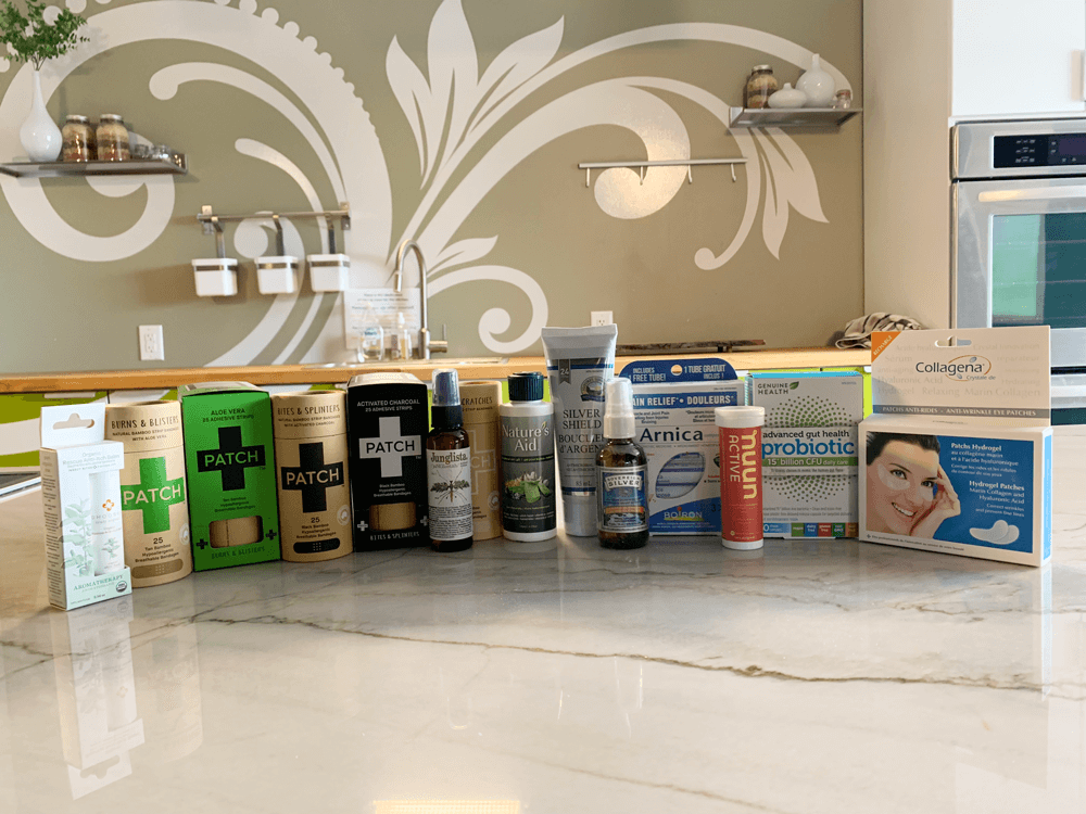 Holistic First Aid products from Nature's Emporium