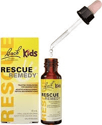 A bottle of Rescue Remedy for Kids.